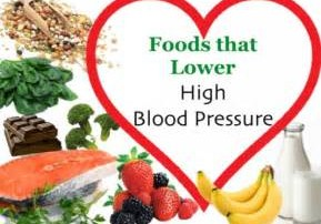 Foods for lowering blood pressure